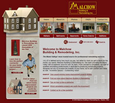 Malchow Remodeling Website